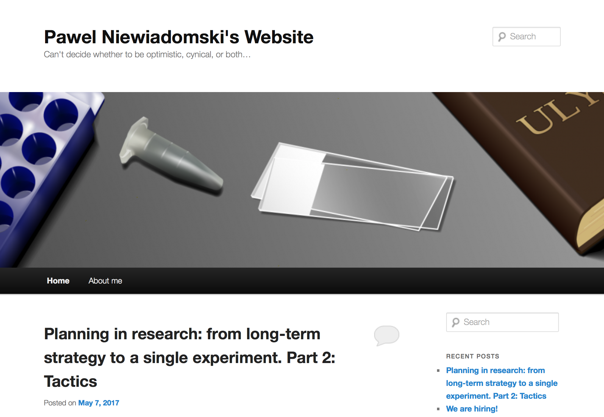 blogi naukowe